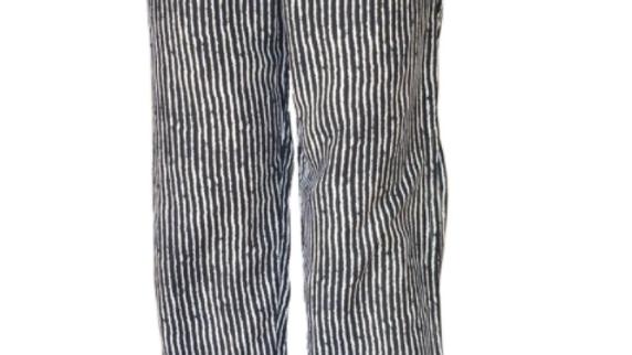 "Split Pant ""Stripes"" Print"