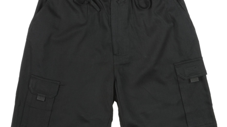 MEN'S BAMBOO RELAX SHORT BLACK - BRS