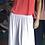 Thumbnail: Tani Long Skirt White - 99186