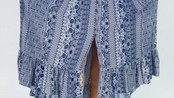 "Tangelo Skirt ""Watermark"""