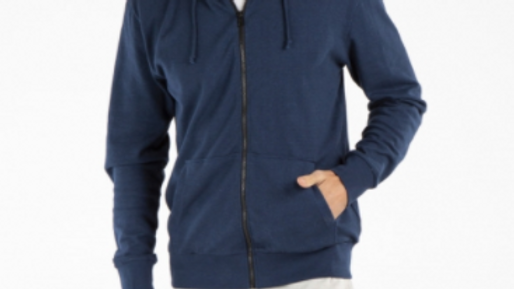 MENS HEMP COTTON HOODIE- NAVY - MWT1904