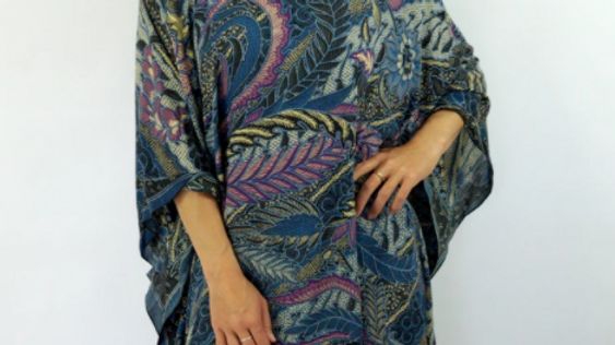 Short Tunic Retro Batik