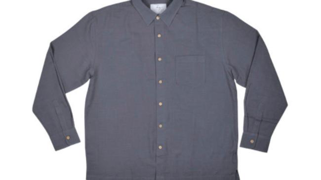 Men's Long Sleeve Bamboo Shirt – Steel