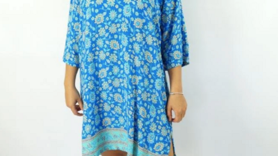 3/4 Sleeve Tunic - Juiet