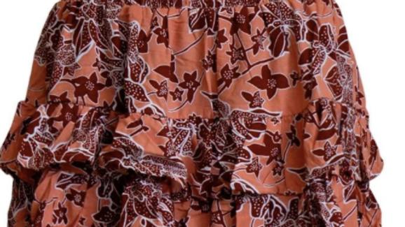 Havana Skirt - Chocolate - SKU2332