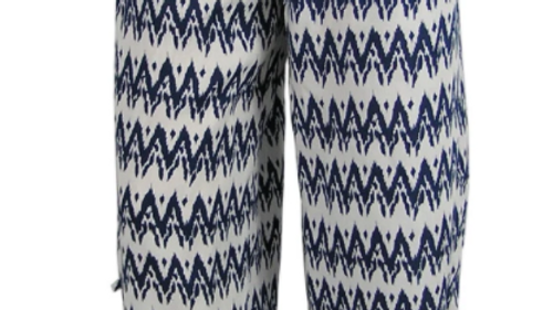 "Ruched Pant ""Zig Zag"""