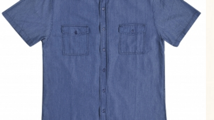 BAMBOO DENIM SHIRT INDIGO - SLIM FIT CUT - BDS I