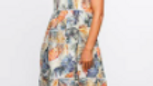 Adrift - Portia Embroidered Dress in Palm Springs