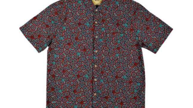 Men's Short Sleeve Bamboo Shirt – Wanakiji Jukurrpa