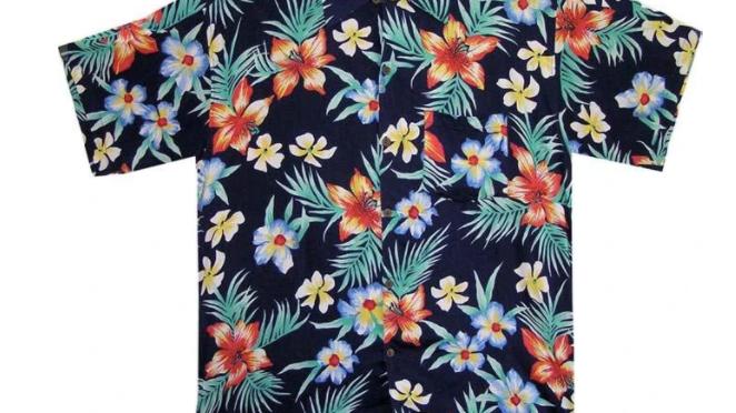 Kids Frangipani Shirt