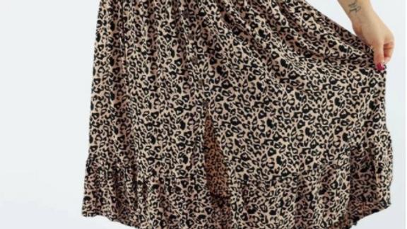 "Tangelo Skirt ""Tanzania"""