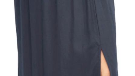 Amber Skirt Plain Black - SKU2251