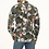 Thumbnail: Men's Hemp Cotton Floral Long Sleeve Shirt - MWT2008