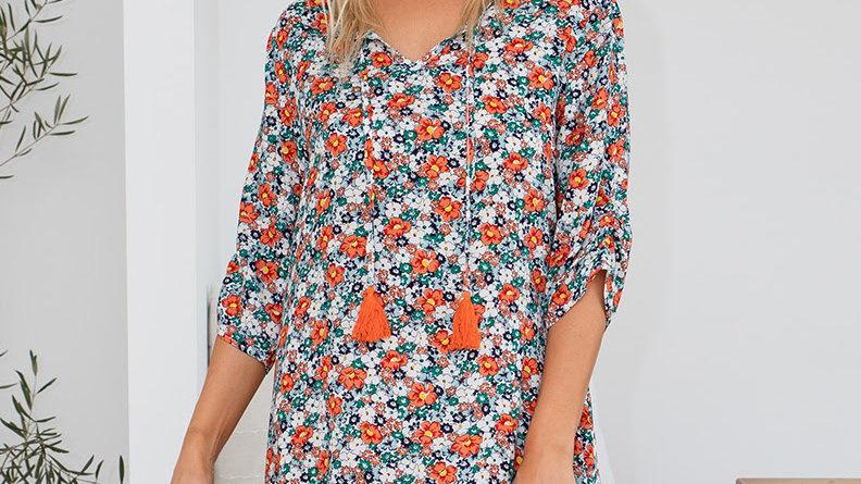Tassel Tunic Dress