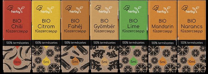 herby's bio fűszercseppek