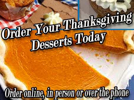 Thanksgiving Desserts to Complete Your Meal