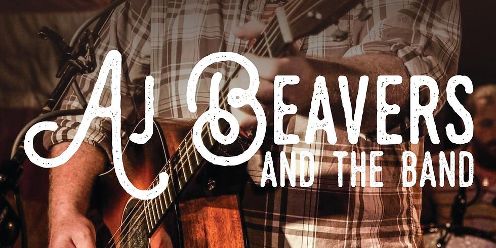 Aj Beavers and the Band at Ferus