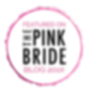 Pink Bride Blog Feature Badge