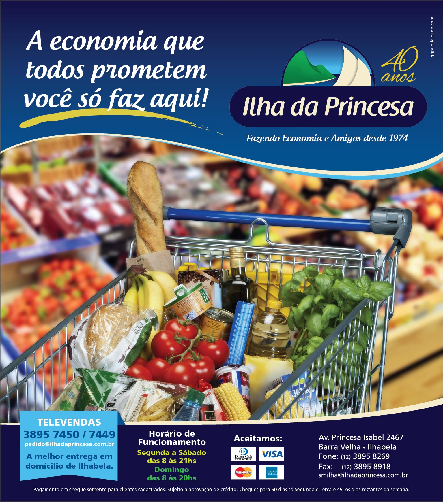 ILHA DA PRINCESA - ANÚNCIO