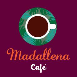 MADALLENA CAFÉ - LOGO