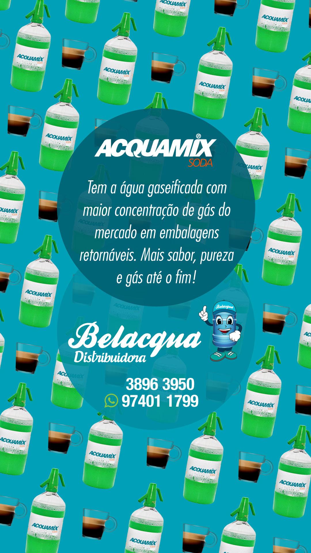 BELACQUA ACQUAMIX - ANÚNCIO