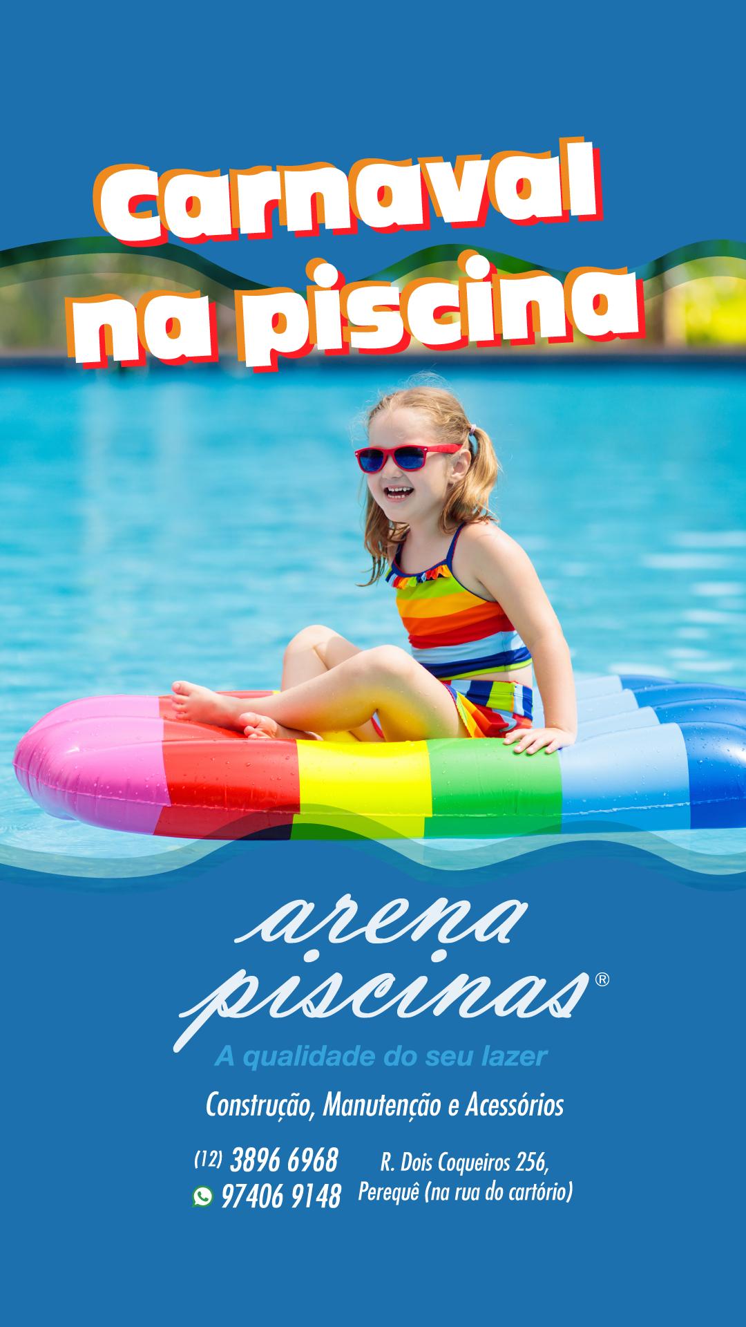 ARENA PISCINA - ANÚNCIO