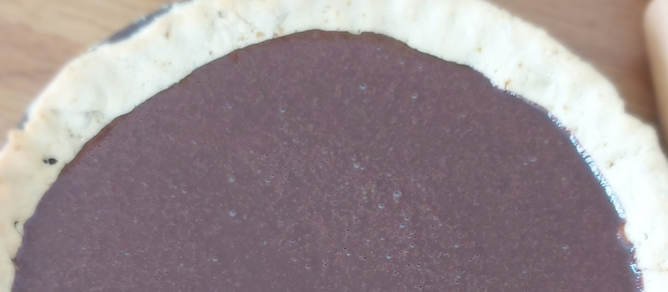 Tarte sablée au chocolat