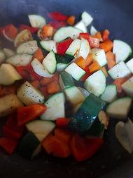 legumes sautés