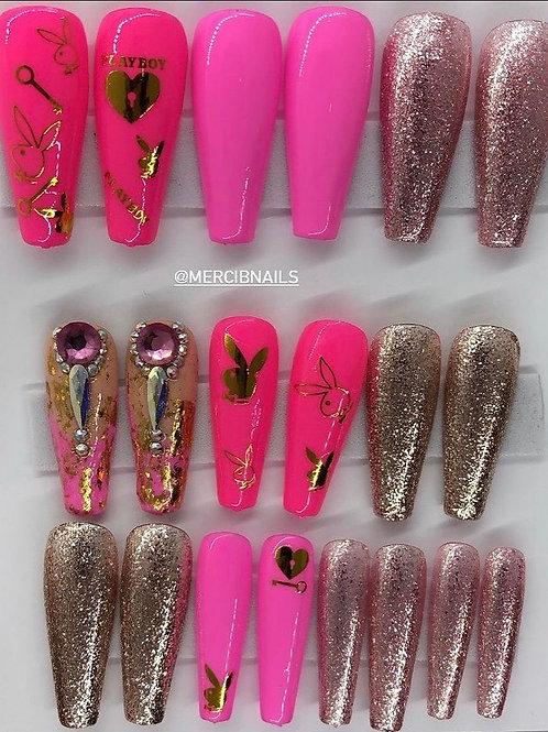 Pink PlayBoy (2 Sets)