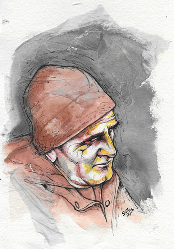 Man with a Brown Hat