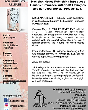 Forever Eve Press Release