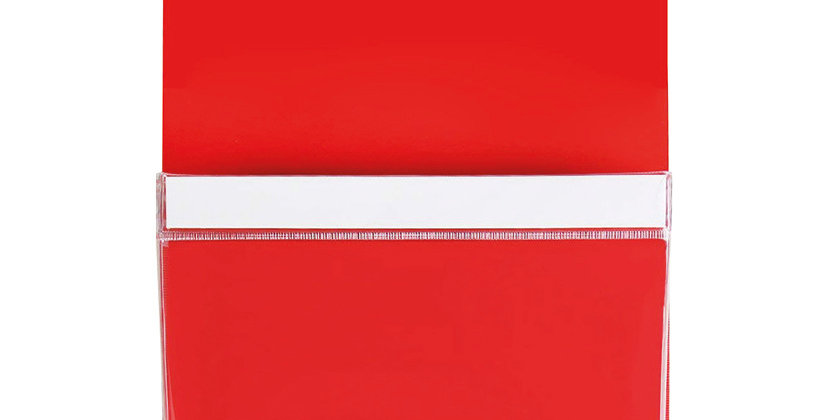 MAG5009 Large Magnetic Pouch - Red