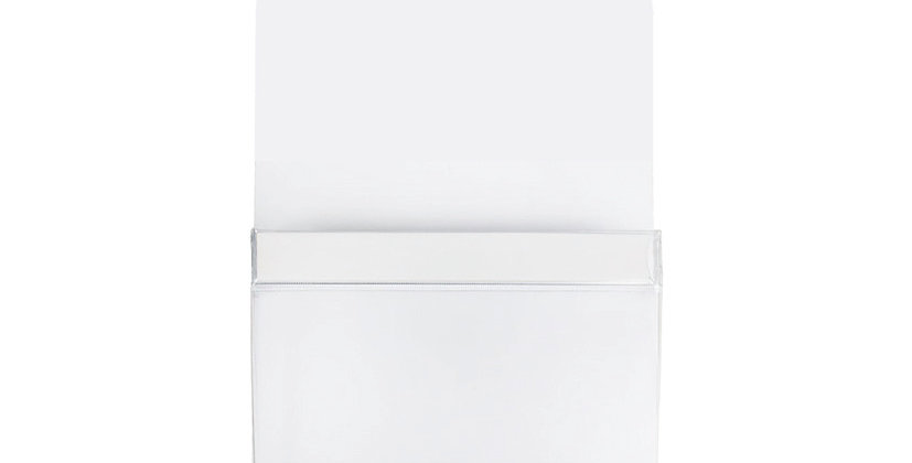 MAG5006 Medium Magnetic Pouch - White