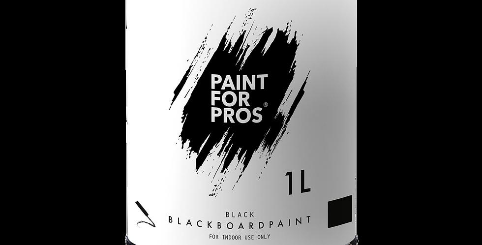 PRO2009 - Blackboard Paint 1.0 Litre - Black