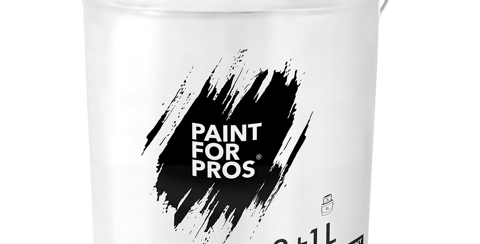 PRO3001 - Beamer Paint 2 + 1 Litre Kit - White