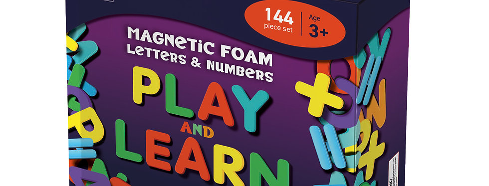 MAG5012 - Magnetic Foam Letters and Numbers