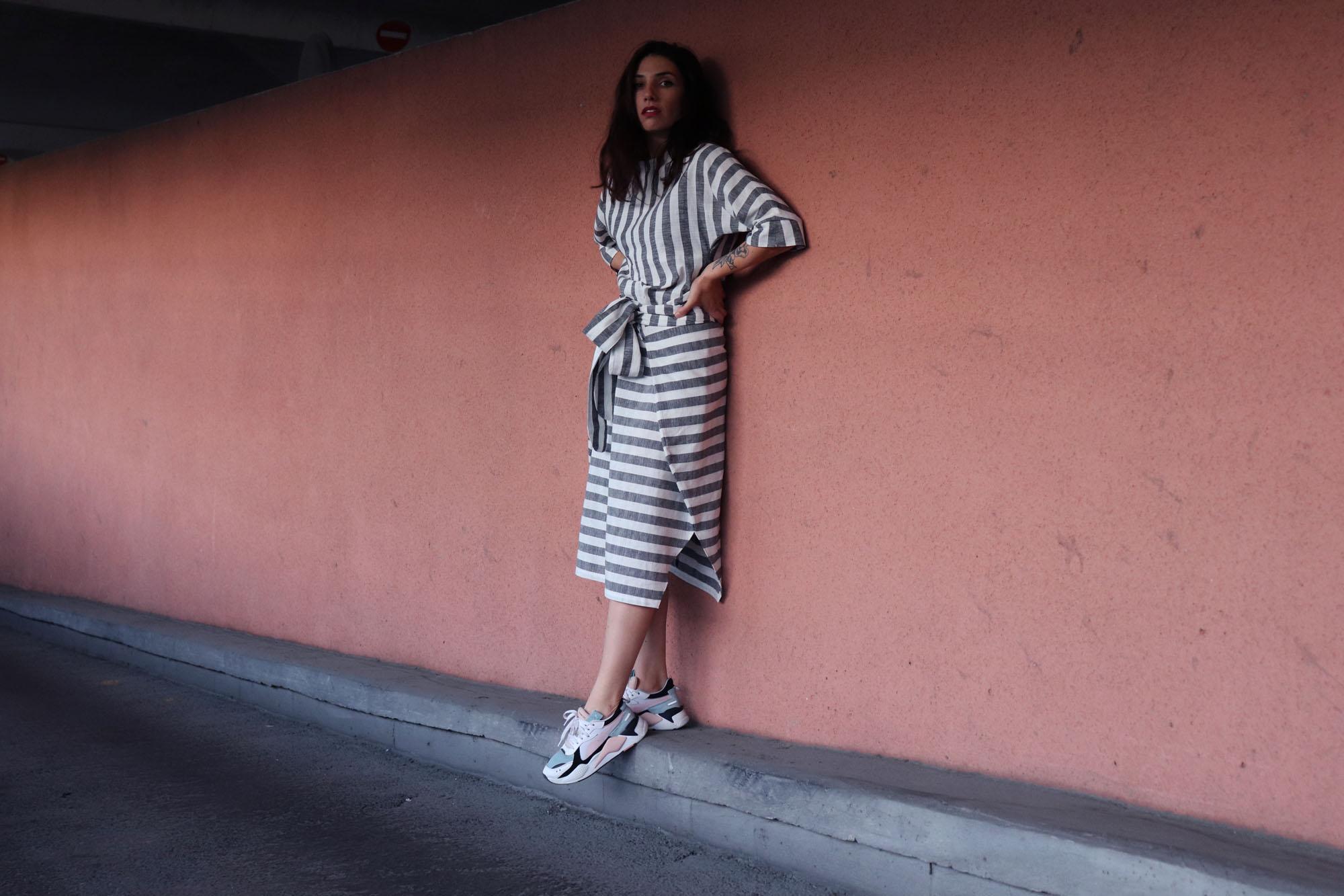 EN - ADONIS DRESS   MILAN AV-JC I Zero Waste Fashion