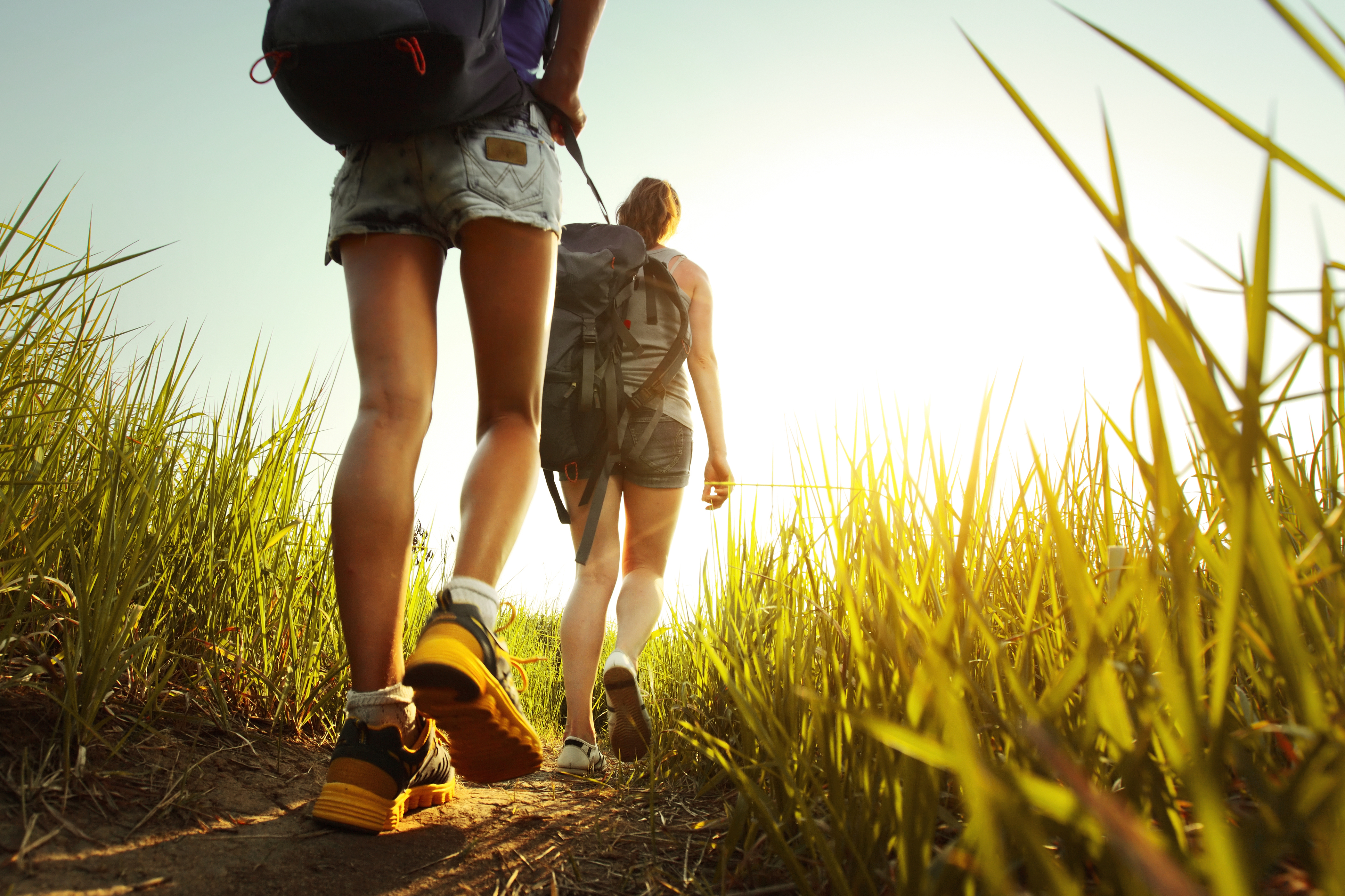 bigstock-Hikers-with-backpacks-walking--44736049