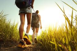 bigstock-Hikers-with-backpacks-walking--44736049