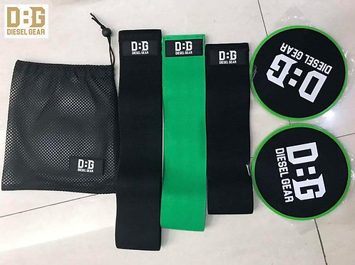 Diesel Fabric Non-Slip Resistance Bands and Core Sliders