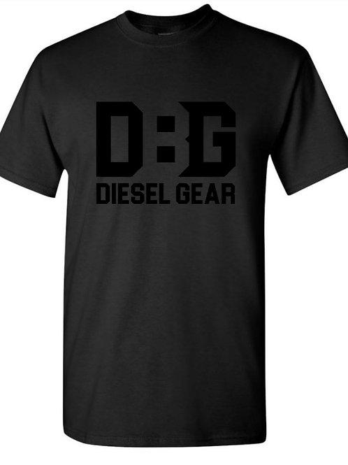 Diesel Gear Black Logo Tshirts