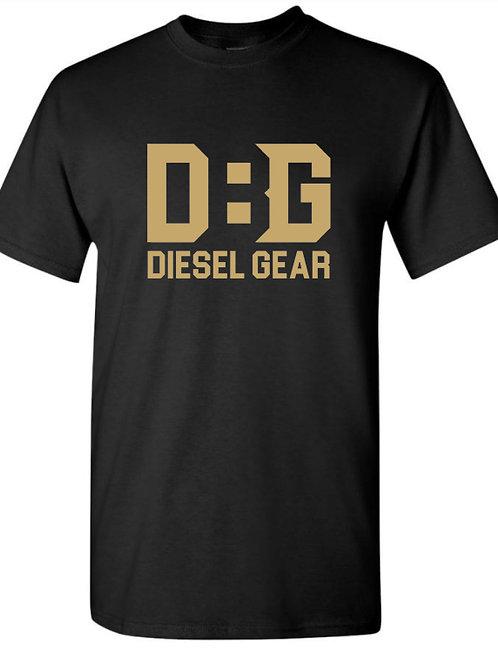 Diesel Gear Gold Logo Tshirts