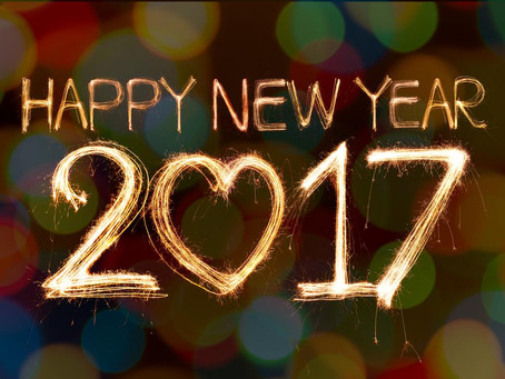 Goodbye 2016... and Happy New Year!