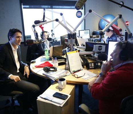 The CHOM Christmas Show with Justin Trudeau