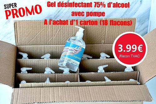 Copie de Gel hydroalcoolique 75% alcool/ Hydroalcoholische gel 75% alcohol  - 48