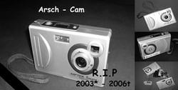 Arsch-Cam-Gedenkseite