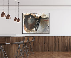 Free Modern Restaurant Interior Frame 02