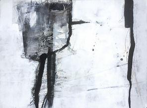 Katalog Titelbild abstraktes Kunstwerk in schwarzweiß Querformat