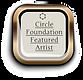 CFA Circle Foundation Featured Artist Sylvia Galos Logo