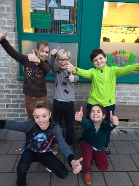 5de leerjaar naar Radio Koekenbak!